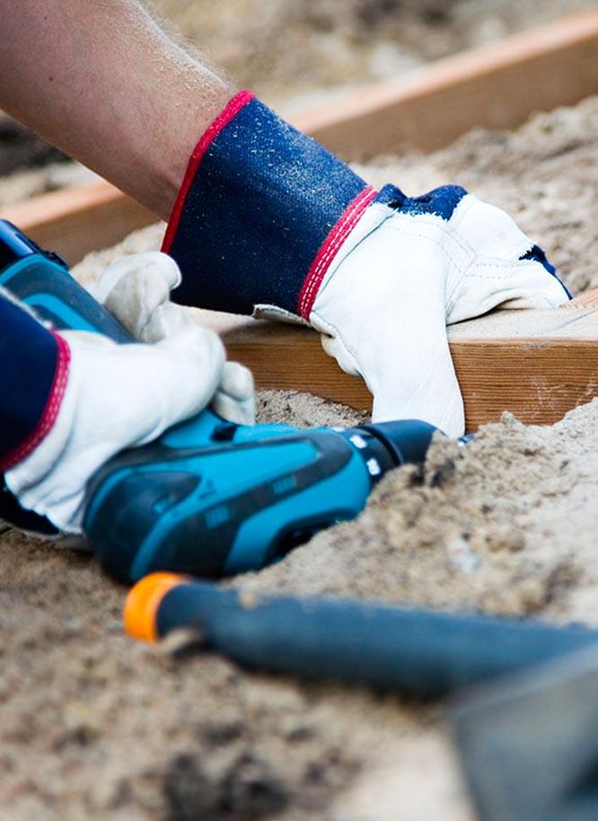 Kompetente Montage für Ihr Bauholz bei Holz Gar in Aumühle südlich von München.