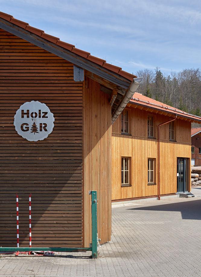 Standort von Holz Gar in Aumühle südlich von München.