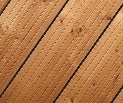 Holz Gar Terrassen Thermoholz