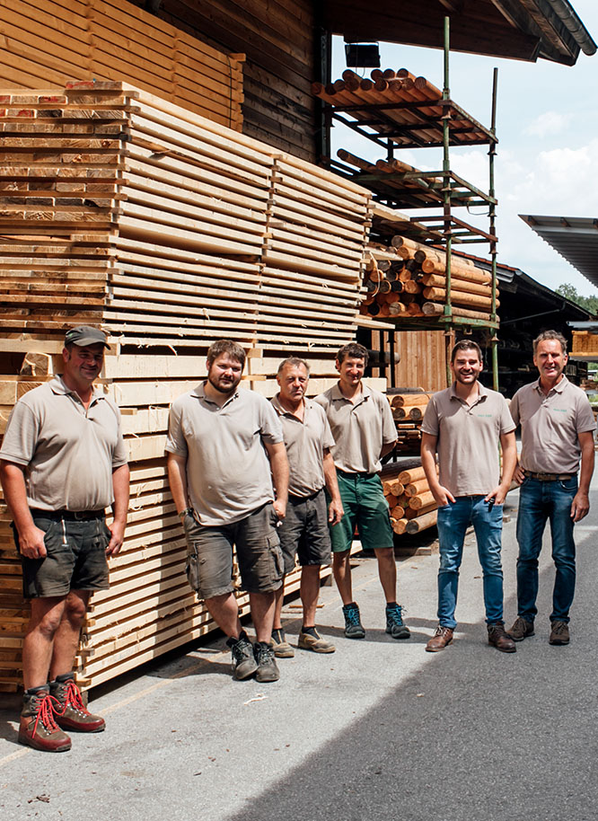 Das Team von Holz Gar in Aumühle südlich von München.